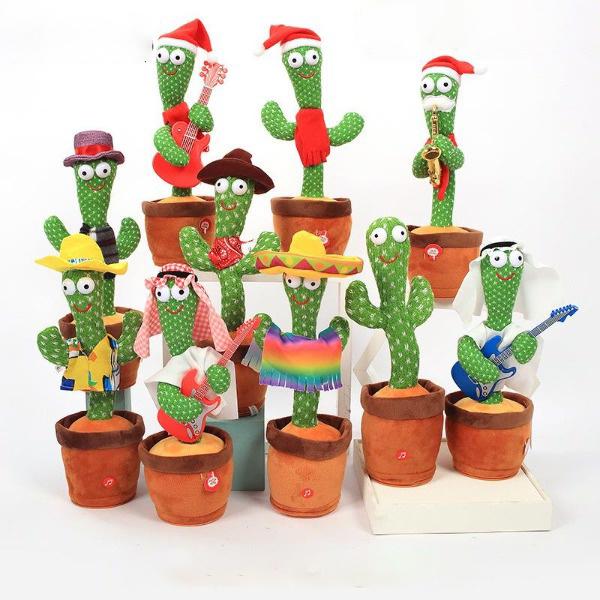 Funny Electric Dancing Cactus