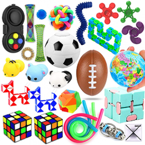 12 Sensory Toys Set