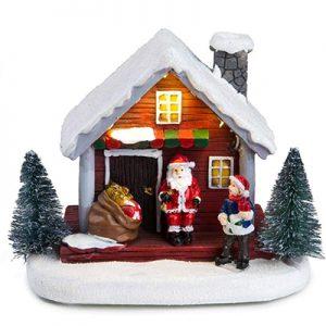 7Building Santa House