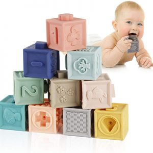 Blocks Baby Teethers Toys