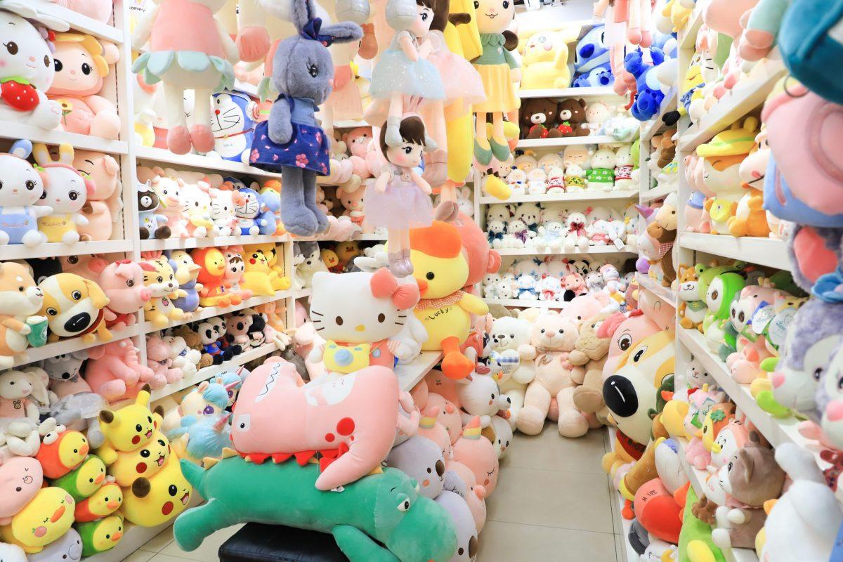 Yiwu Market- lovely Plush toys